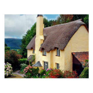English Scenes, Anne Hathaway's home Postcard