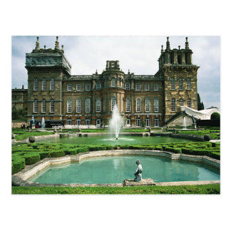 English Scenes, Blenheim Palace Postcard