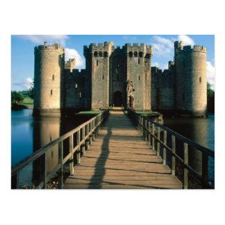 English Scenes, Bodiam Castle, Sussex Postcard