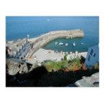 English Scenes, Clovelly, Devon, Post Card