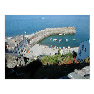 English Scenes, Clovelly, Devon, Postcard