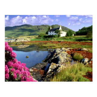 English Scenes, Cottage in the Lake District Postcard