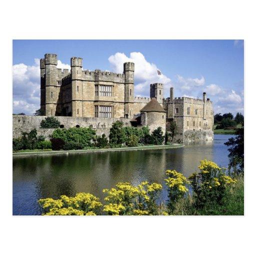 English Scenes, Leeds Castle, Kent Post Card