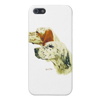 English Setter Cover For iPhone 5/5S