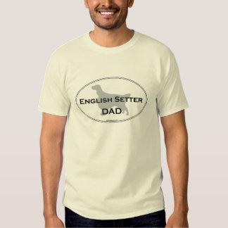 English Setter Dad T-shirt