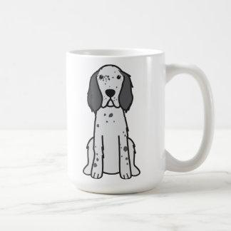 English Setter Dog Cartoon Mugs