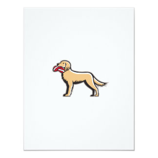 English Setter Dog Deflated Volleyball Circle Retr 11 Cm X 14 Cm Invitation Card