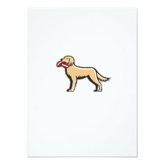 English Setter Dog Deflated Volleyball Circle Retr 14 Cm X 19 Cm Invitation Card