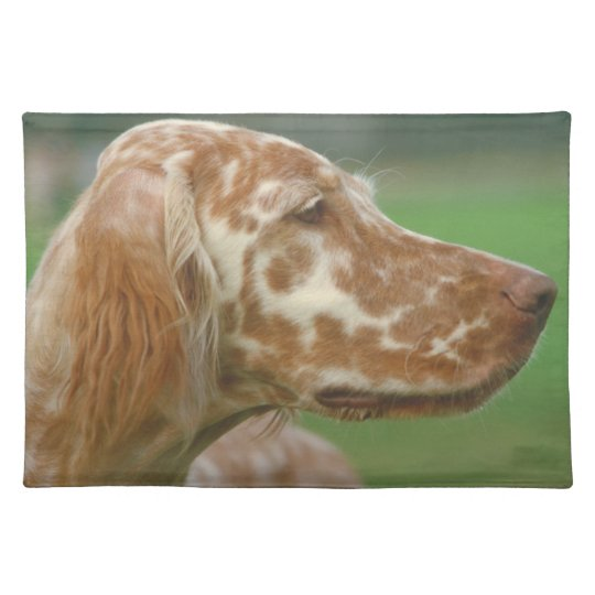 English Setter Dog Placemat