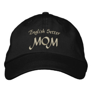 English Setter Mom Gifts Embroidered Baseball Cap