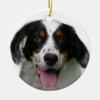 English Setter Ornament