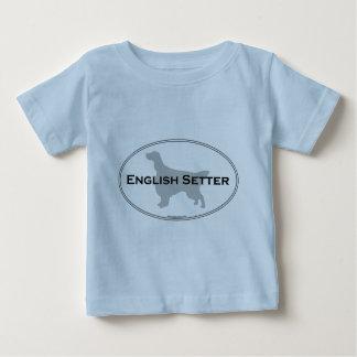 English Setter Oval T-shirts