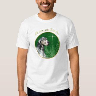 English Setter Peace Tshirt