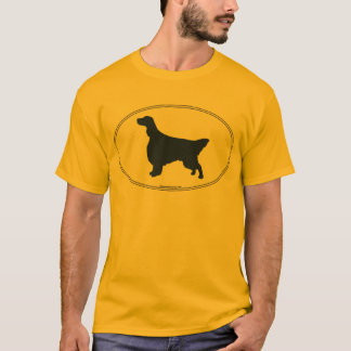English Setter Silhouette T-Shirt