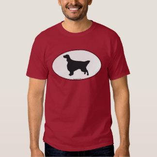 English Setter Silhouette T Shirt