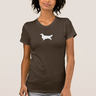 English Setter Silhouette Tee Shirts