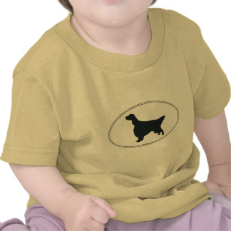 English Setter Silhouette T Shirts