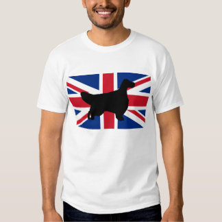 english setter silhouette United_Kingdom.png Tshirt