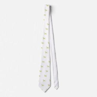 English Setter Watercolor Tie