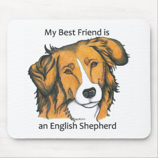 English Shepherd gifts - sable Mouse Mat