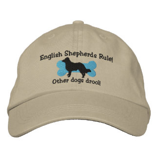 English Shepherds Rule Embroidered Hat