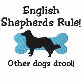English Shepherds Rule Embroidered Shirt TShirt
