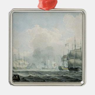 English Ships of War Christmas Ornament