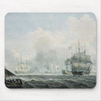 English Ships of War Mouse Mat