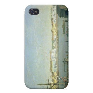 English Shore Street in St Petersburg, 1790s iPhone 4 Cases