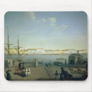 English Shore Street in St Petersburg, 1790s Mouse Pad