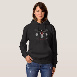 English Soccer Eagle Ladies Hoodie