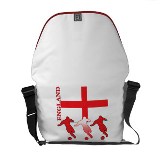 English Soccer Players Courier Bag