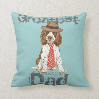 English Springer Dad Cushion