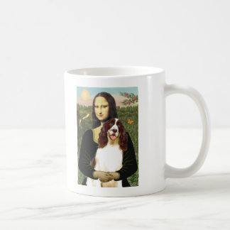 English Springer (Liv2) - Mona Lisa Basic White Mug