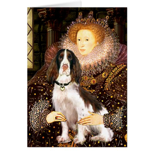 English Springer (Liv) - Queen Card