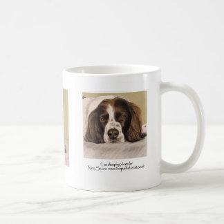 English springer spaniel basic white mug