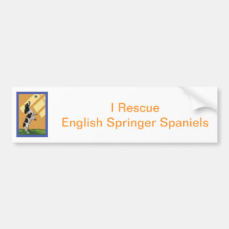 English Springer Spaniel Bumper Stickers