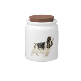 English Springer Spaniel Candy Jar