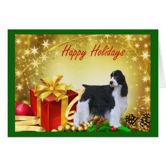 English Springer Spaniel Christmas Card Gifts
