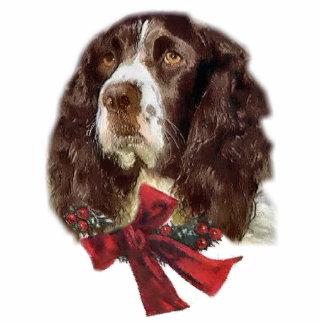 English Springer Spaniel Christmas Gifts Ornament Photo Sculpture Decoration