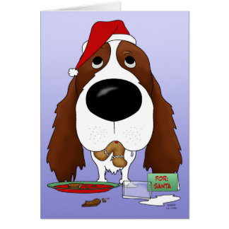 English Springer Spaniel Christmas Greeting Cards