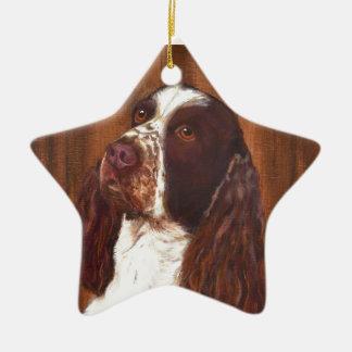 English Springer Spaniel Christmas Ornament