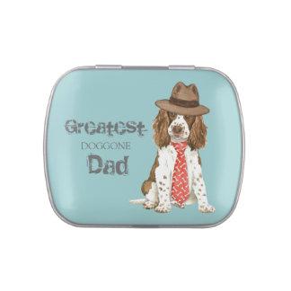 English Springer Spaniel Dad Candy Tin
