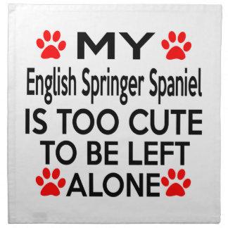 English Springer Spaniel Designs Napkin
