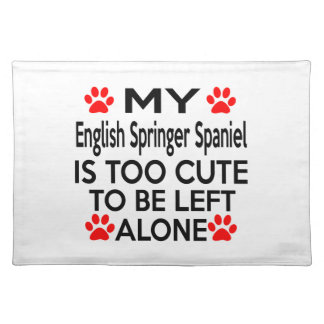 English Springer Spaniel Designs Placemats