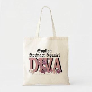 English Springer Spaniel DIVA Tote Bag