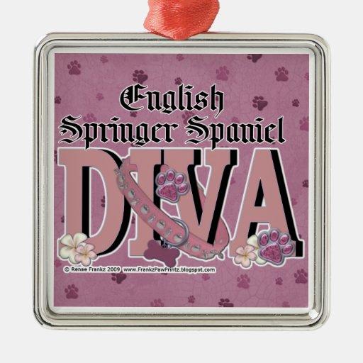 English Springer Spaniel DIVA Ornament