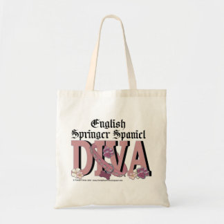 English Springer Spaniel DIVA Tote Bag