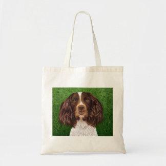 English Springer Spaniel Dog Art - Major Tote Bag