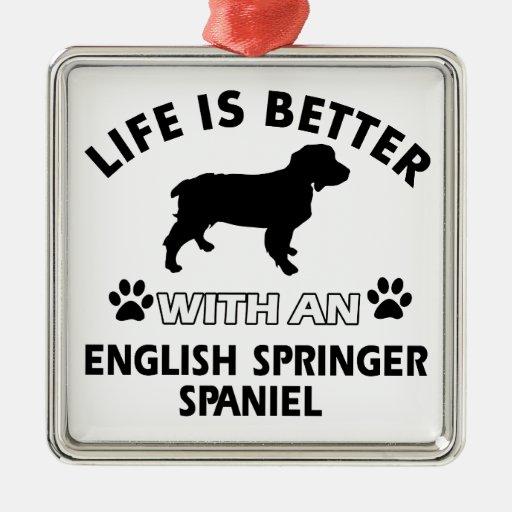English Springer Spaniel dog breeds Ornament